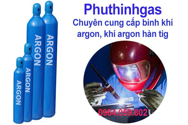 Cung cấp khí Argon Hàn Tig